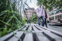 Highline en Nueva York Fotos de archivo libres de regalías