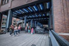Highline en Nueva York Fotografía de archivo libre de regalías