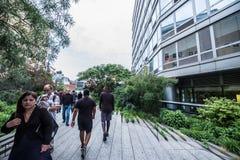 Highline en Nueva York Imagen de archivo libre de regalías