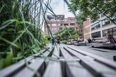 Highline en Nueva York Imágenes de archivo libres de regalías