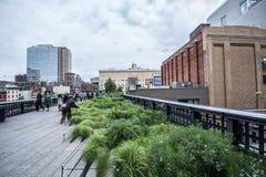 Highline en Nueva York Imagenes de archivo