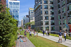 Highline in New York Stock Photo