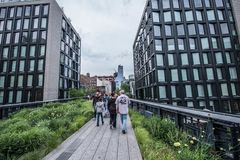 Highline in New York Stock Afbeelding