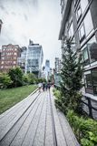 Highline in New York Royalty-vrije Stock Fotografie