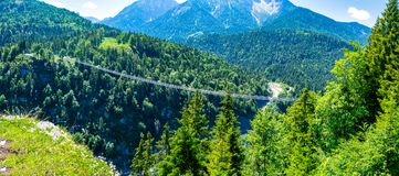 The Highline 179 in Reutte royalty free stock image