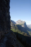 Highline Trail, Glacier National Park Royalty Free Stock Photo