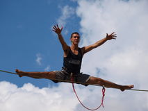 Highliner, Lublin, Pologne Photos libres de droits