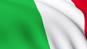 Highly Detailed 3d Render of the Italian Flag 1. Highly Detailed 3d Render of the Italian Flag 2 Royalty Free Stock Photo