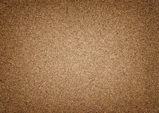 Highly detailed brown cork background with vignette Stock Photo