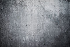 Highly detailed concrete wall. Empty background. Highly detailed and empty concrete wall. Gray background, horizontal Stock Photo