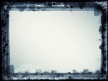 Grunge retro style frame for your projects Stock Photography