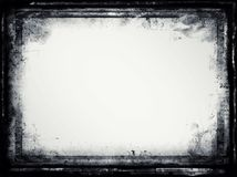 Grunge retro style frame for your projects Stock Images
