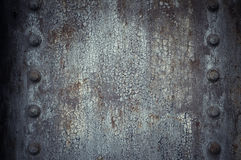 Highly detailed image of grunge metal background Stock Images