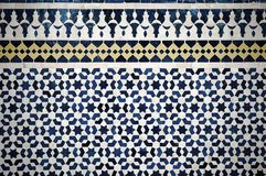 Moroccan vintage tile background Royalty Free Stock Image