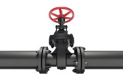 Highly detailed three-dimensional model valves and Stock Photos