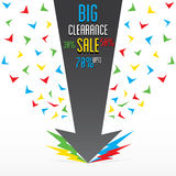 Highly discount offer banner design Royalty Free Stock Images