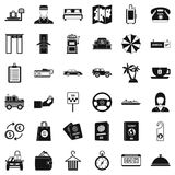 Highly profitable icons set, simple style. Highly profitable icons set. Simple set of 36 highly profitable vector icons for web isolated on white background Royalty Free Stock Photo