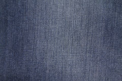 Highly resolution detailed texture of abstract blue denim jeans Royalty Free Stock Image