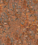 Highly Rusted Background Stock Image