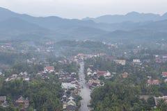 The highly visible Luang Prabang, Laos. Stock Image