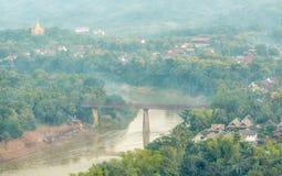 The Highly Visible Luang Prabang, Laos. Stock Photo