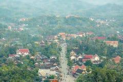 The Highly Visible Luang Prabang, Laos. Royalty Free Stock Image