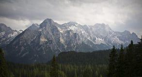 Highpoint Lofer Austria di Mountain View immagini stock
