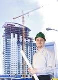 highrise архитектора Стоковая Фотография RF