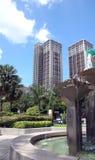 Highrise Apartment. Apartment block in Kuala Lumpur royalty free stock photos