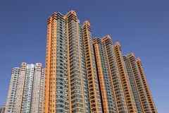 Highrise apartment buildings Stock Image