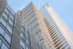 Highrise Apartment Buildings In Chicago Stock Photography