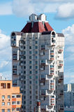Highrise apartment house in Moscow Stock Image