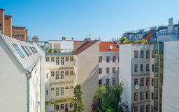 Highrise with apartments in Vienna Stock Images