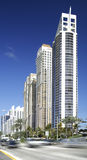 Highrise architecture Sunny Isles Beach FL Stock Photography