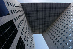 Highrise-Bürohaus Stockbild