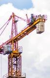 Highrise Building Crane 1 stock image