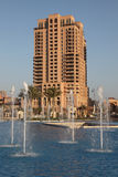 Highrise building in Doha Royalty Free Stock Photo
