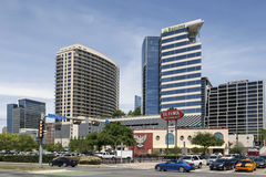 Highrise Buildings in Dallas, Texas, USA Stock Image