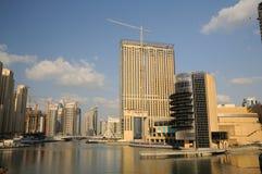 Highrise buildings at Dubai Marina Royalty Free Stock Image
