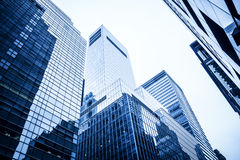Highrise buildings Stock Image