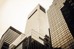Highrise buildings Stock Photography