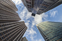 Highrise buildings Royalty Free Stock Images