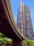 highrise chicago городской Стоковое Изображение RF