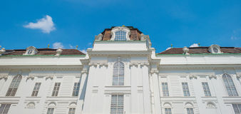 Highrise con los apartamentos en Viena Foto de archivo libre de regalías