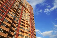 Highrise Condominium Stock Photography