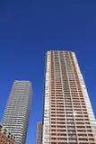 Highrise condominium in Musashikosugi Stock Image