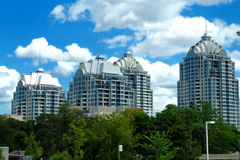 Highrise Condominiums Royalty Free Stock Image