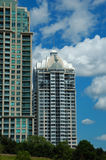 Highrise Condominiums Royalty Free Stock Photography