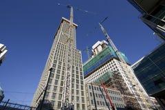 Highrise Construction Royalty Free Stock Photos