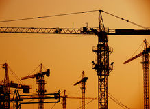 Highrise construction Stock Photography